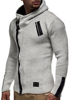 LEIF NELSON Men's Knitted Cardigan
