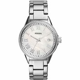 Fossil Womens Analogue Quartz Watch with Stainless Steel Strap 4053858820111