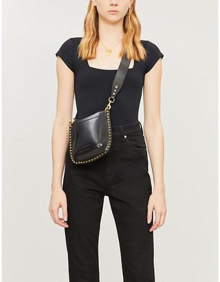 Free People Square Eyes square-neck stretch-jersey body