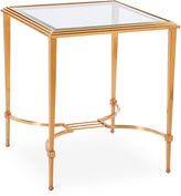 Blink Home Sophia 21.5 Steel End Table, Gold