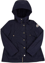 Moncler HOODED JACKET-NAVY SIZE 8