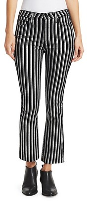 Paige Colette Cropped Flare Pants