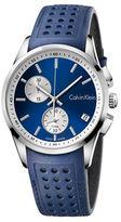 Calvin Klein Quartz Leather Strap Watch