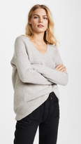 TSE Cocoon V Neck Sweater
