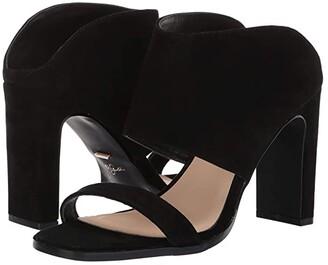 42 GOLD Linx (Black Suede) Women's Sandals