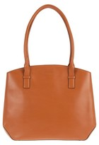 Lodis Patty Leather Briefcase - Brown