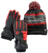 ZeroXposur Boys 4-18 Kenny Beanie & Gloves Set