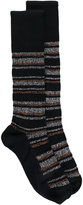Marni striped socks - women - Cotton - One Size