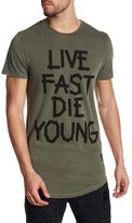 Religion Live Fast Front Graphic Print Tee