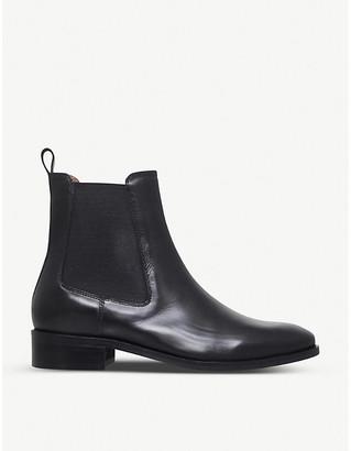 Kurt Geiger London Ladies Black Dalby Leather Ankle Boots