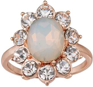 Lauren Conrad Simulated Opal Cocktail Ring