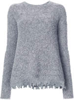 ATM Anthony Thomas Melillo Alpaca Crew Neck Sweater