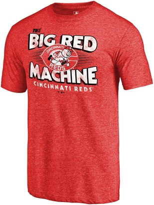 Men's Fanatics Branded Red Cincinnati Reds Big Red Machine Hometown Collection T-Shirt