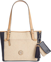 Giani Bernini Contrast Tote, Only at Macy's