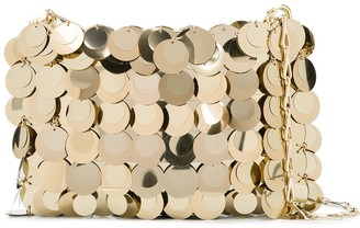 Paco Rabanne Metallized Shoulder Bag