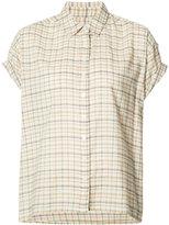 The Great plaid shortsleeved shirt