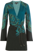 Etro Printed Wool Cardigan with Cashmere