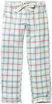 Fat Face Check Classic Pyjama Bottoms, Peppermint
