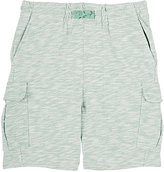 Stella McCartney CARGO SHORTS-GREEN SIZE 10