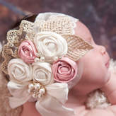 Etsy Rosette Headband,Baby Girl Headband,Baby headbands,Flower Girl headband,Couture baby Headband,Easter