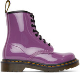 Thumbnail for your product : Dr. Martens Purple 1460 Boots