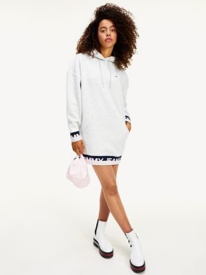 Tommy Hilfiger Logo Hem Sweatshirt Dress