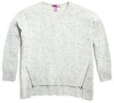 Aqua Girls' High Low Cashmere Sweater , Big Kid - 100% Exclusive