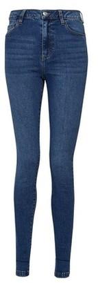 Dorothy Perkins Womens Indigo Blue Alex Denim Jeans, Blue