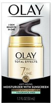 Olay Total Effects 7-in-1 Anti-Aging UV Moisturizer with SPF 15, 1.7 oz. (Packaging May Vary), Packaging May Vary