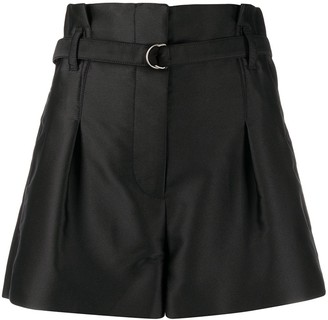 3.1 Phillip Lim High-Waisted Belted Shorts