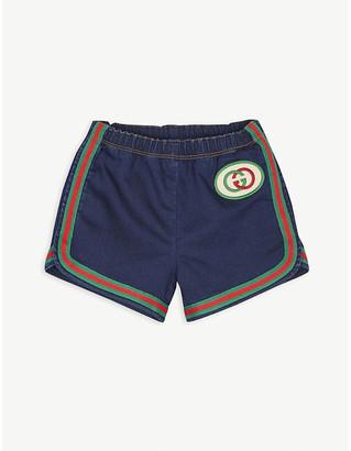 Gucci GG denim shorts 6-36 months