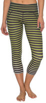 Betsey Johnson Ombre-Stripe Cropped Leggings