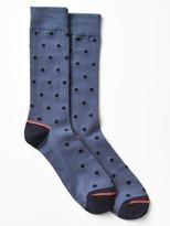 Gap Cozy polka dot crew socks