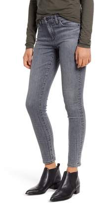 AG Jeans The Legging Ombre Plaid Ankle Skinny Jeans