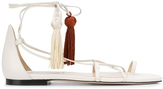 Jimmy Choo Dusti flat sandals