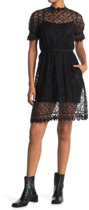 Burberry Mayne Lace Dress