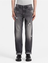 Calvin Klein Jeans Relaxed Fit Faded Black Jeans