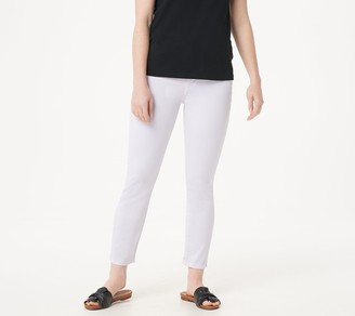 JEN7 by 7 For All Mankind Sateen Ankle Skinny Pants