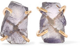 Melissa Joy Manning 14-karat Gold Iolite Earrings - one size