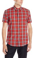 John Varvatos Men's Short Sleeve Shirt