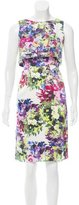 Erdem Silk Floral Print Dress