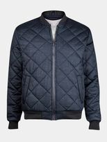 Burton Burton Brave Soul Navy Jersey Quilted Jacket*