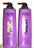 KMS California Color Vitality 25.3 oz. Shampoo + 25.3 oz. Conditioner (Combo Deal)
