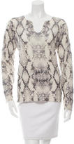 Zadig & Voltaire Cashmere Printed Top