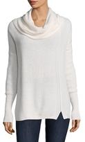 White + Warren Rick Rack Cashmere Sweater