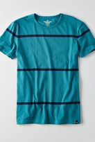 American Eagle Outfitters AE Flex Short Sleeve Wide Stripe T-Shirt