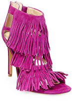 Steve Madden Fringly Suede High-Heel Sandals