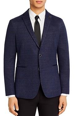 John Varvatos Varick Jersey Windowpane Slim Fit Sport Coat
