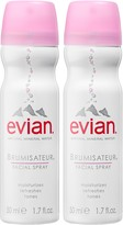 Evian Brumisateur® Natural Mineral Water Facial Spray Travel Duo