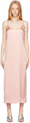 La Perla Pink Silk Slip Dress
